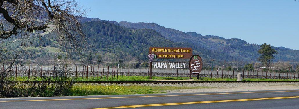 lugares para fotos em Napa