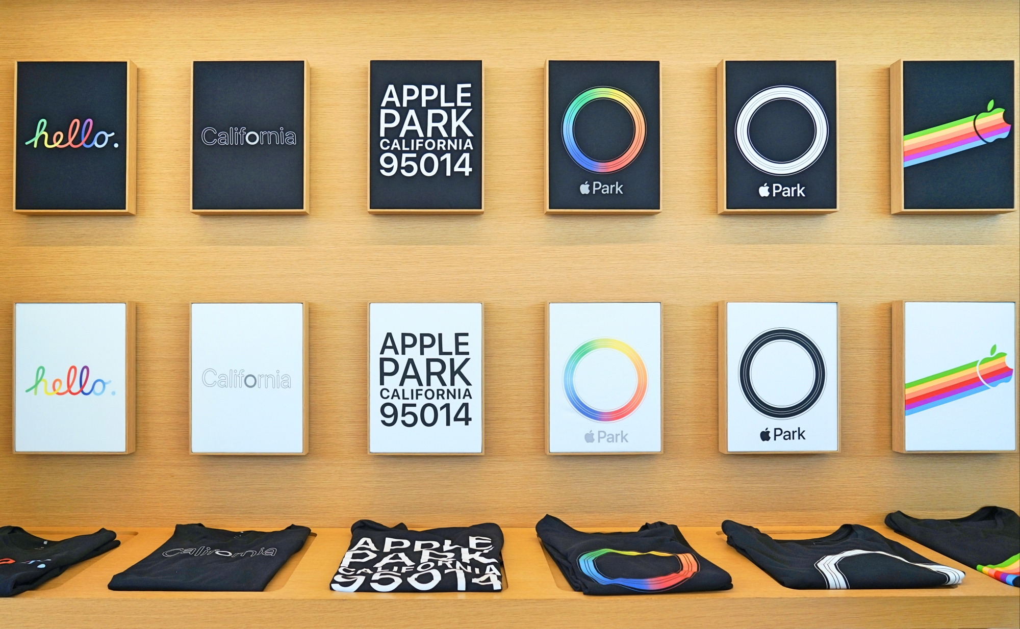Camisetas Exclusivas do Visitor Center da Apple em Cupertino - Hotel California Blog