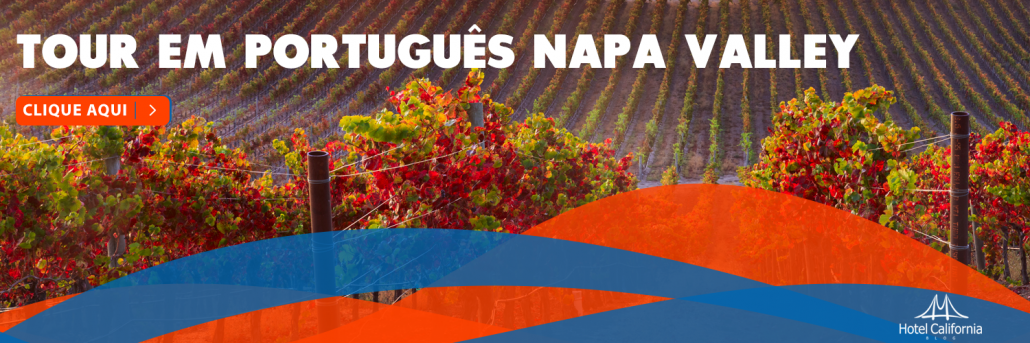 Tour em Português em Napa Valley pela Região dos Vinhos Californianos