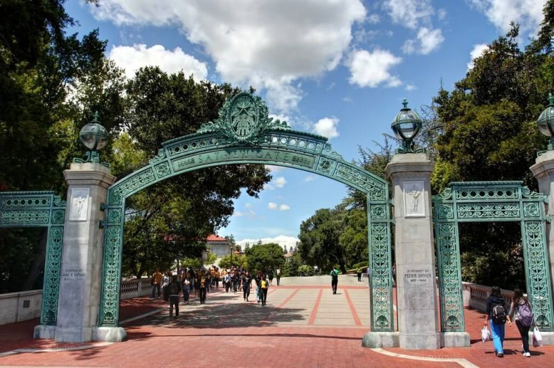 Sather Gate em Berkeley