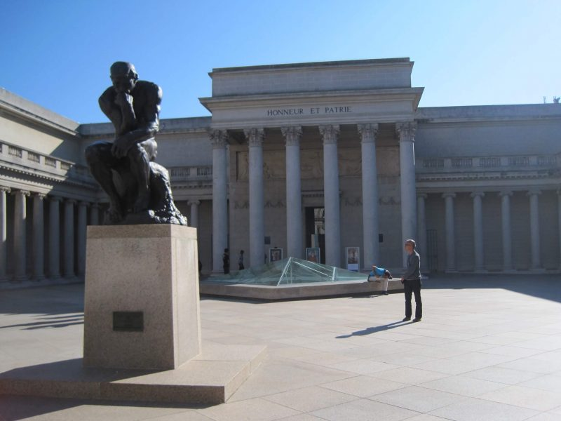 Thinker Rodin Legion of Honor Museum