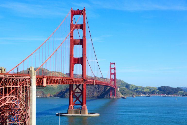 Golden Gate Bridge - Ponte da Califórnia em São Francisco - Hotel California Blog