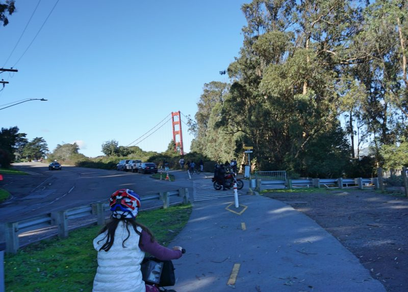 Passeio de bicicleta pela Golden Gate
