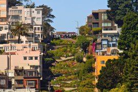 Lombard Street em São Francisco