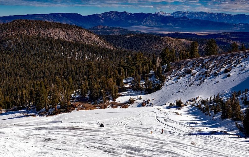 Mammoth Lakes - Neve na California