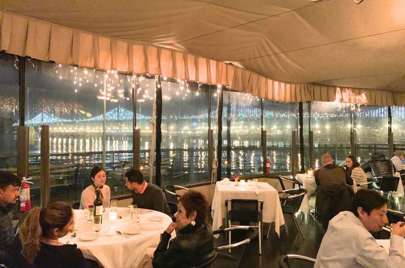 restaurante com vista em SF