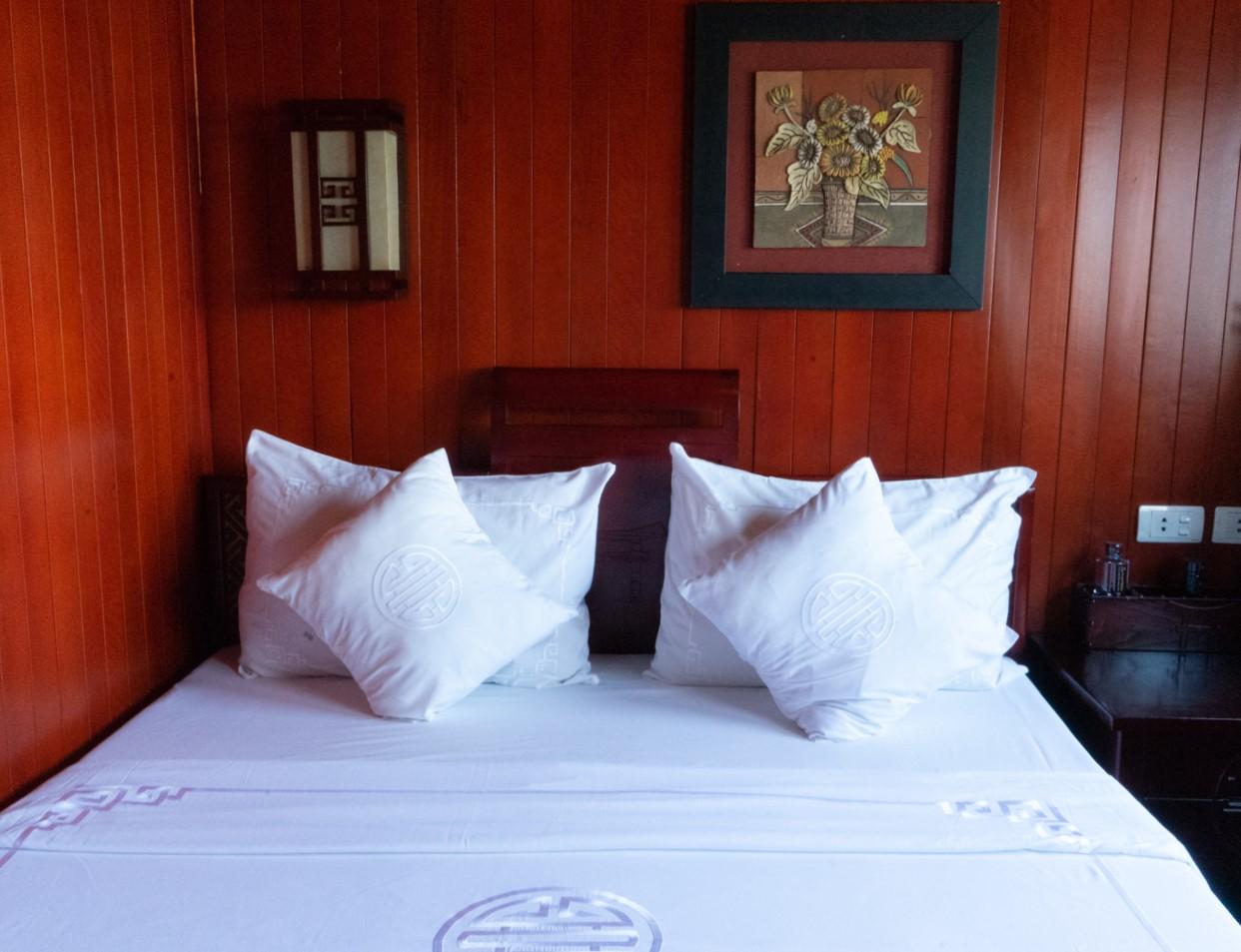 Barco para Halong Bay